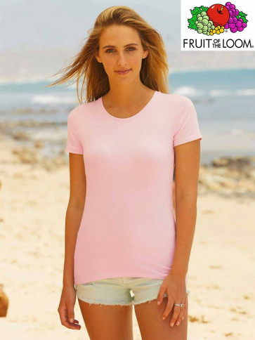 T-SHIRT LADY FIT 61378 GIROCOLLO DONNA