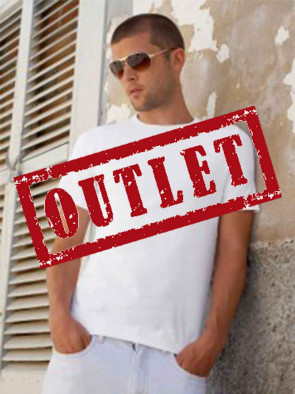 OUTLET T-SHIRT UOMO 61260 ADERENTE GR.185 MANICA CORTA