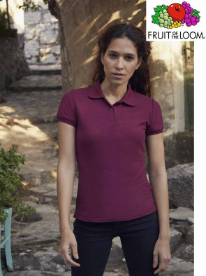 POLO FIT 63212 65/35% DONNA