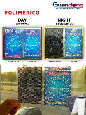 ONE WAY NIGHT&DAY 12000 PERFORATO 70% POLIMERICO 180MY H.1370 da 30 MT - 10  MT GUANDONG
