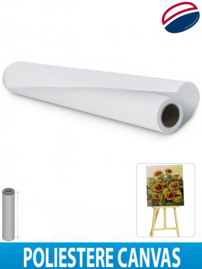 CANVAS POLYESTERE SUPER BIANCO OPACO CM 91,4 X 30 MT GUANDONG