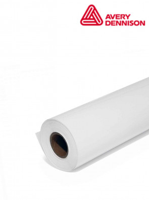 VINIL JET PVC IN ROTOLO PER DISPLAY 1370X30 MT BIANCO OPACO 320 MY
