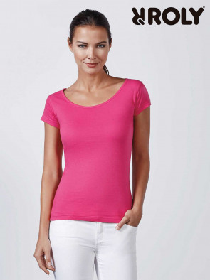 GUADALUPE DONNA T-SHIRT M/C NERA TG. S